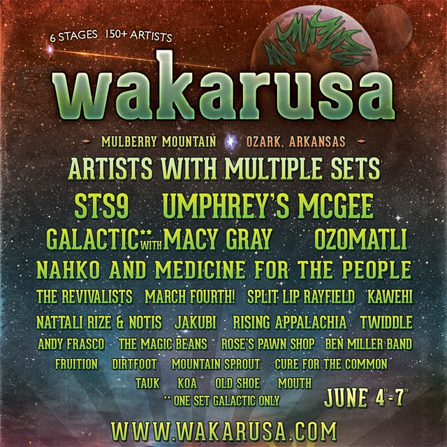Wakarusa Tickets