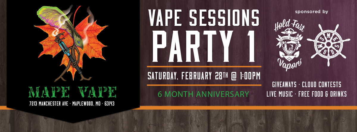 vape shop party